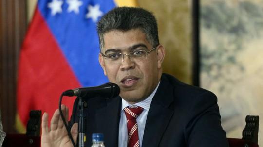 Ngoại trưởng Venezuela Elias Jaua. Ảnh: Guyana Times