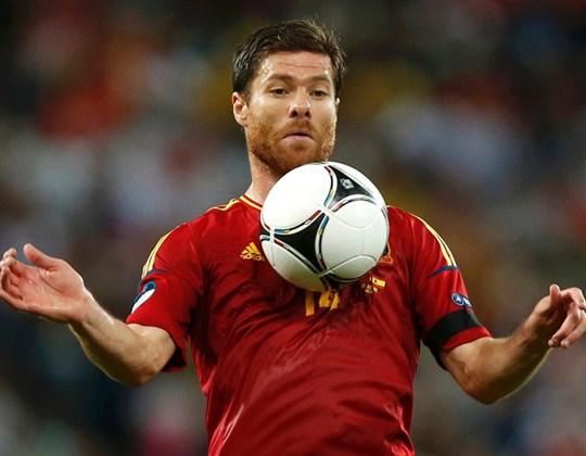 Alonso trong màu áo Tây Ban Nha