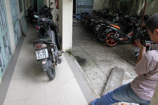 Chiếc xe máy của Nguyễn Hoài Nhân