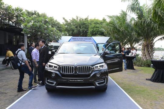 Ra mắt BMW X5 hoàn toàn mới tại Việt Nam