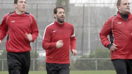 Những hình ảnh tập luyện của Nistelrooy trong những ngày qua