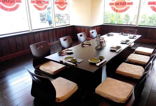 Một nhà hàng mang phong cách Nhật Bản
