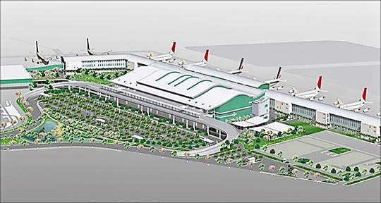 Phối cảnh dự án nhà ga T2, sân bay Tân Sơn Nhất