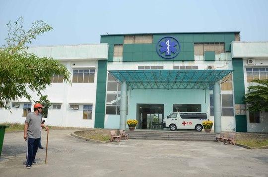 Trung tâm cấp cứu 115 Đà Nẵng trên đường Thanh Tịnh vắng như chùa bà đanh