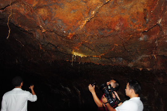 Tuyệt vời hang núi lửa dài nhất Đông Nam Á của Việt Nam