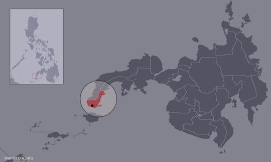 Tàu Trung Quốc đến , ở gần làng Sinunuc, dọc bờ biển phía Tây TP Zamboanga tìm sự giúp đỡ. Ảnh: CNN