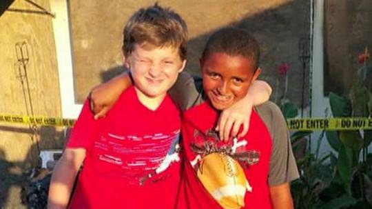 Jeremiah Grimes (trái) và Isiah Francis (phải) được khen ngợi dũng cảm. Ảnh: Fox News