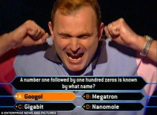 Pictured after winning £1m on the ITV gameshow, Ingrams euphoria was short-lived as his £1million cheque was taken from him as he left the show