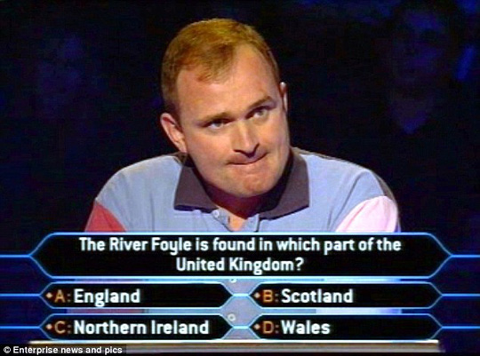 Charles Ingram (pictured on the game show) achieved worldwide notoriety as the coughing Major jackpot winner of Who Wants To Be A Millionaire?