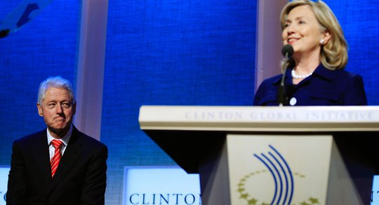 Bill and Hillary Clinton are pictured. | Reuters Photo