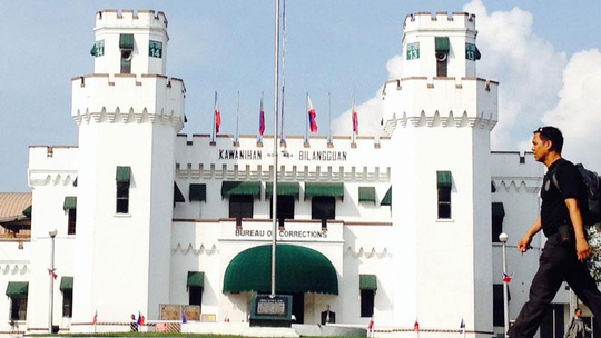 Nhà tù New Bilibid. Ảnh: Inquirer