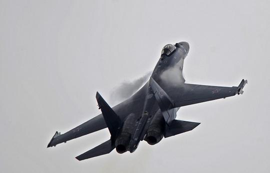 Triều Tiên đề nghị mua chiến đấu cơ Sukhoi Su-35 của Nga. Ảnh: ITAR-TASS