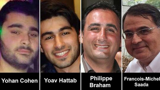 4 con tin thiệt mạng trong cửa hàng. Ảnh: Ynet News