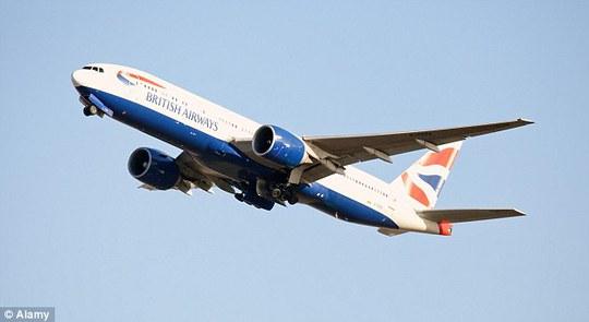 Máy bay của hãng British Airways. Ảnh: Alamy