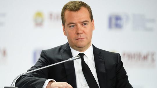 Thủ tướng Nga Dmitry Medvedev. Ảnh: RIA Novosti