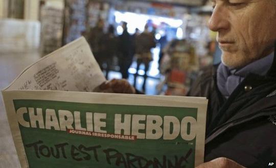 5 triệu số báo của Charlie Hebdo sẽ được phát hành thay vì 3 triệu bản như dự định. Ảnh: AP