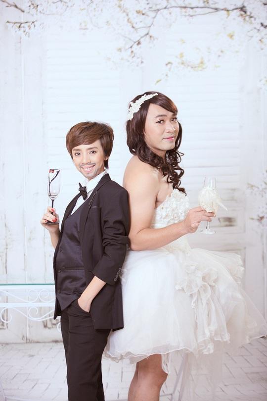 """Vợ chồng """"hoa hậu làng hài"""" Thu Trang đổi giới tính"""
