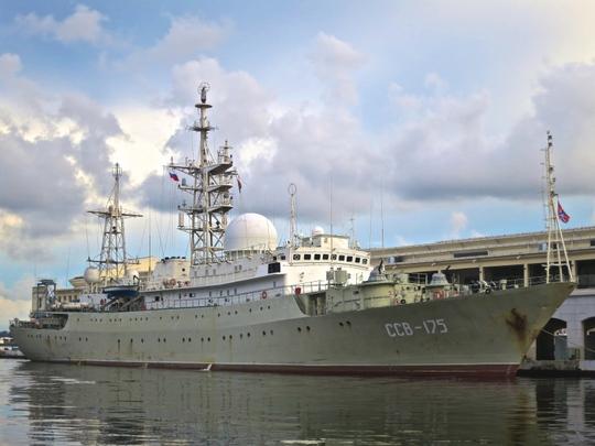 Viktor Leonov CCB 175 của Nga. Ảnh: Ship Spotting