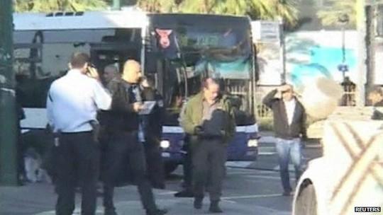 Hiện trường vụ tấn công hôm 21-1. Ảnh: Reuters