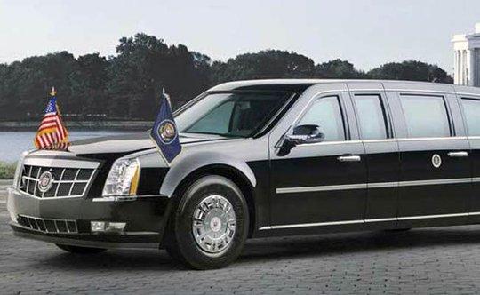 Chiếc xe Quái thú của Tổng thống Obama. Ảnh: NDTV