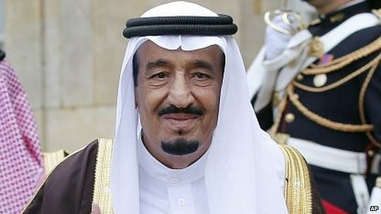 Tân vương Ả Rập Saudi Salman. Ảnh: AP