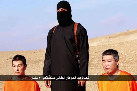 IS xác nhận con tin Nhật Bản Haruna Yukawa (phải) đã bị hànhquyết. Ảnh: Al Furqan Media