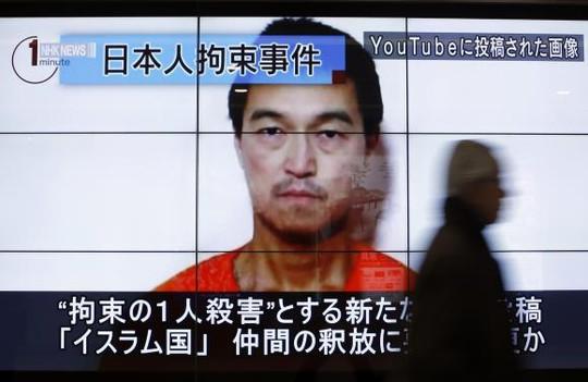 Nhà báo người Nhật Bản Kenji Goto. Ảnh: Reuters