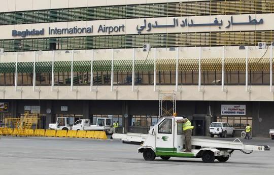 Sân bay quốc tế Baghdad. Ảnh: Reuters
