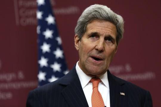 Ngoại trưởng Mỹ John Kerry có thể sắp tới Nga để thảo luận về cuộc khủng hoảng Ukraine. Ảnh: Reuters