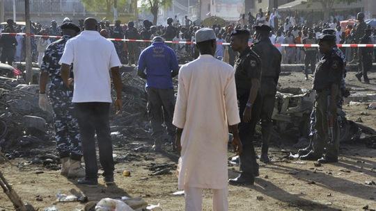 Một vụ đánh bom nhà thờ ở Nigeria ngày 28-11-2014. Ảnh: Reuters