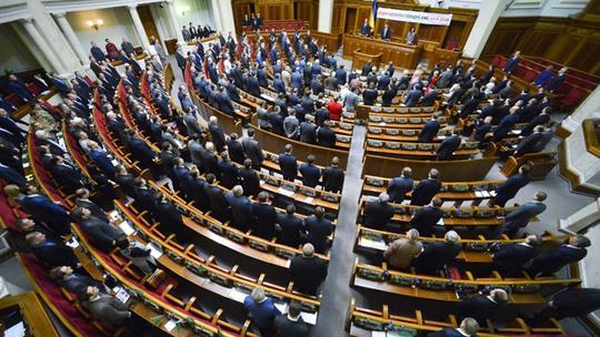Quốc hội Ukraine thông qua luật cho phép bắn binh sĩ đào ngũ hôm 5-2. Ảnh: RIA Novosti