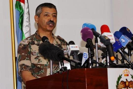 Tướng Mansour al-Jbour, chỉ huy không quân Jordan. Ảnh: Reuters