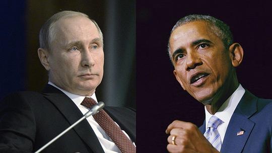 Tổng thống Mỹ Barack Obama (phải) kêu gọi người đồng cấp Nga Vladimir Putin (trái) thảo luận về cuộc khủng hoảng Ukraine. Ảnh: Reuters