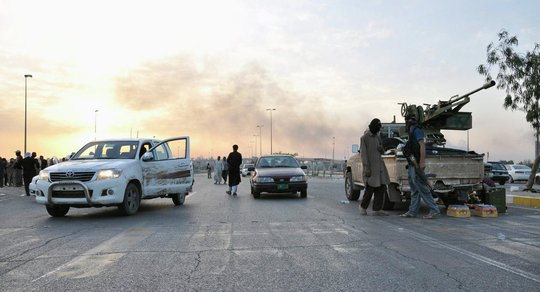 TP Mosul hiện do IS kiểm soát. Ảnh: Reuters