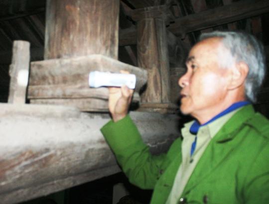 Chiếc đinh đóng ở cột đình mà câu chuyện xưa ở làng Quang Ốc vẫn truyền tai nhau là để thể hiện lời thề của làng