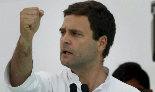 Rahul Gandhi được xem là ngôi sao chính trị của Đảng Quốc đại nhưng gây thất vọng. Ảnh: India.com