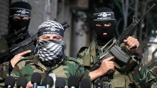 Thành viên Lữ đoàn Tử vì đạo al-Aqsa. Ảnh: Flash90