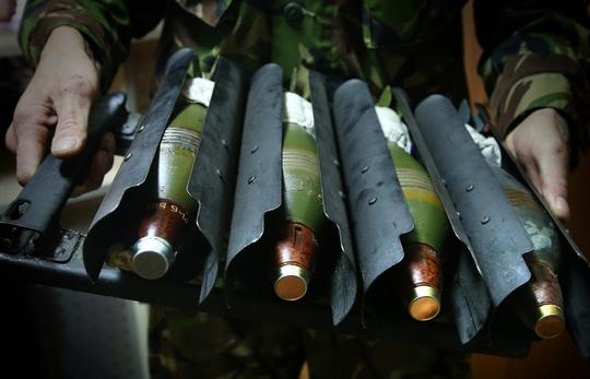 Ukraine ký khoảng 20 hợp đồng xuất - nhập khẩu vũ khí trị giá hàng trăm triệu đô la tại triển lãm IDEX-2015 ở Abu Dhabi. Ảnh: TASS