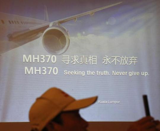 Thân nhân hành khách Trung Quốc mất tích trên MH370 yêu cầu MAS điều tra tới cùng. Ảnh: Reuters