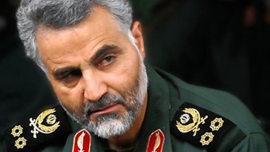 Thiếu tướng Qasem Suleimani. Ảnh: BBC