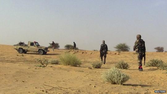 Xung đột vẫn tiếp diễn dai dẳng ở miền Bắc Mali. Ảnh: Reuters
