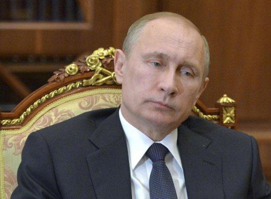 """Tổng thống Putin cho biết Nga từng """"báo động"""" hạt nhân khi sáp nhập Crimea. Ảnh: RIA Novosti"""