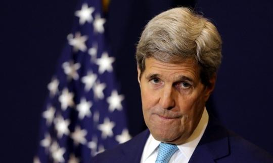 Ngoại trưởng Mỹ John Kerry. Ảnh: EPA