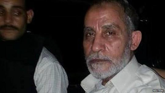 Thủ lĩnh Anh em Hồi giáo Mohammed Badie. Ảnh: Reuters