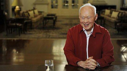 Cựu Thủ tướng Singapore Lý Quang Diệu. Ảnh: Straits Times