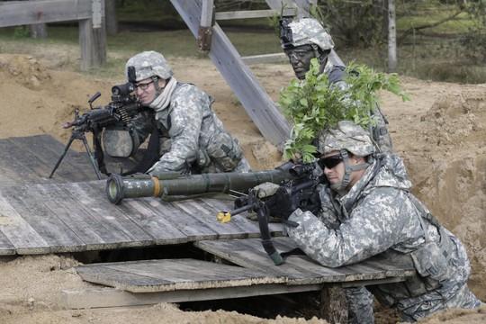 Thành viên Lữ đoàn dù 173 của Mỹ. Ảnh: Business Insider