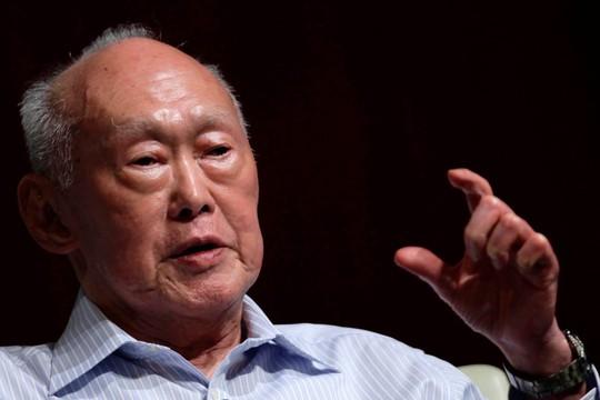 Cựu thủ tướng Singapore Lý Quang Diệu. Ảnh: The Real Singapore