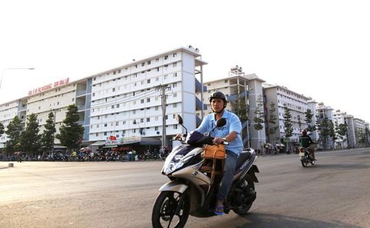 Toàn cảnh khu đô thị Hòa Lợi, nơi đang có hơn 2.400 căn hộ giá rẻ dành cho người thu nhập thấp