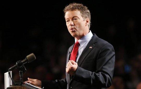 Thượng nghị sĩ Cộng hòa Rand Paul. Ảnh: Reuters