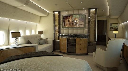 Phòng giải trí, thư giãn thoạt nhìn y hệt một khách sạn hạng sang.
